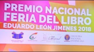 Premio Nacional Feria del Libro Eduardo León Jimenes 2018