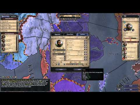 Genius and Attractive traits? Yes please! - Crusader Kings II - YouTube