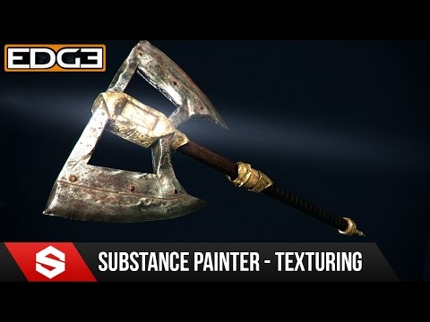 #4 Game Axe Asset Creation Series - Substance Painter Textur