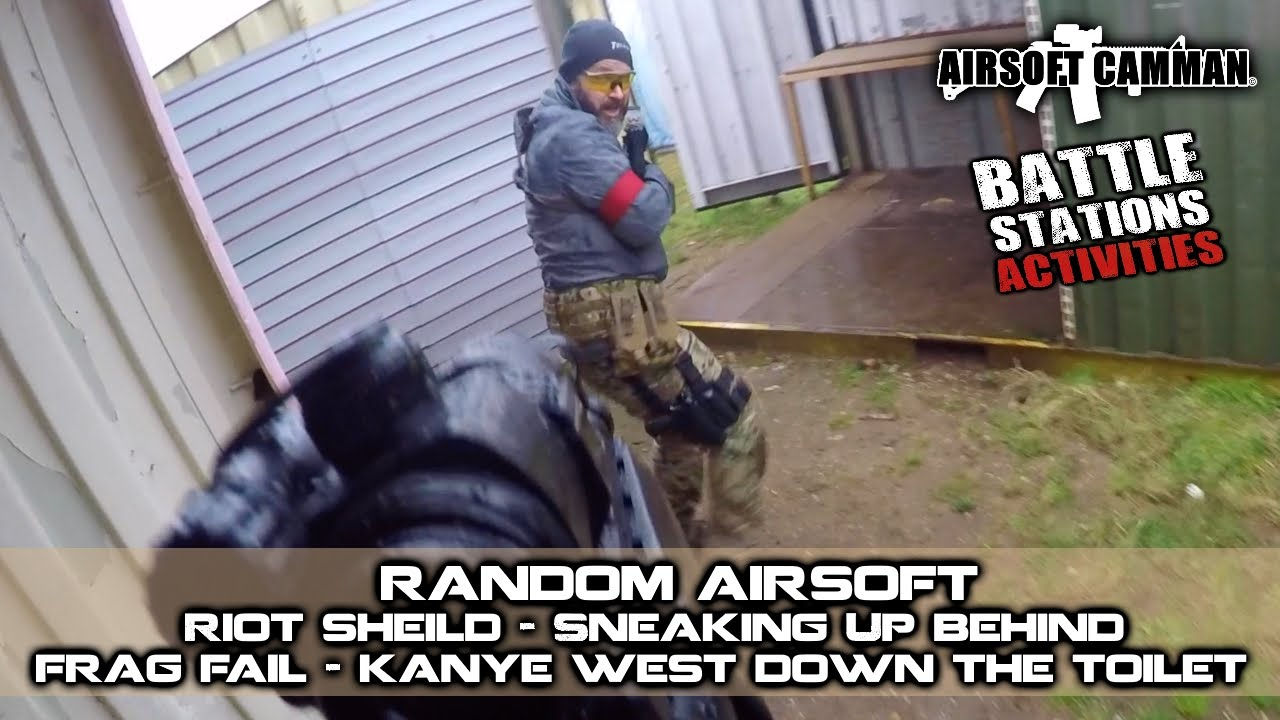 how to make a good airsoft riot shield