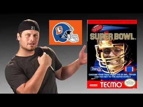 Tecmo Super Bowl - NES - Denver Broncos - Tecmo Madison XIII Training with Mort