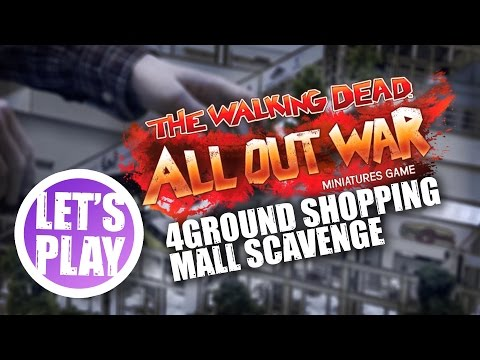 Let's Play: The Walking Dead - Shopping Mall Scavenge