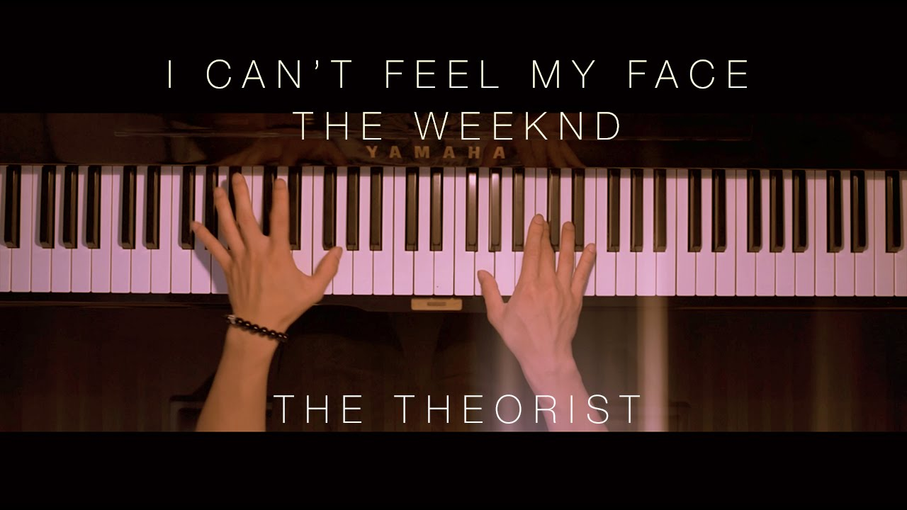 The Weeknd - Can't Feel My Face | The Theorist Piano Cover
