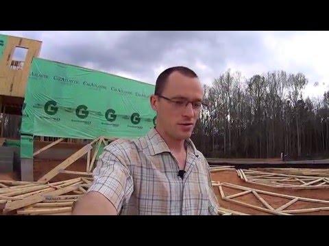 51 Строительство Каркасных домов в США. Шарлотте Северная Каролина.