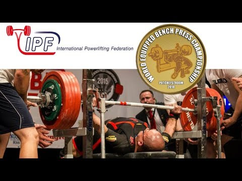 Sub-Junior Men, 53-120+ kg - World Equipped Bench Press Championships 2018