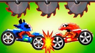 DRIVE AHEAD #8 БИТВА на ТАЧКАХ с ИНОПЛАНЕТЯНАМИ Мультик игра для детей Разбей голову противнику