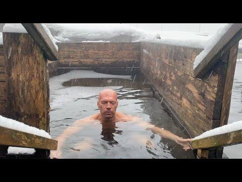 Как погружаться в ледяную воду и кайфовать. Методика дыхания по Wim Hoff.