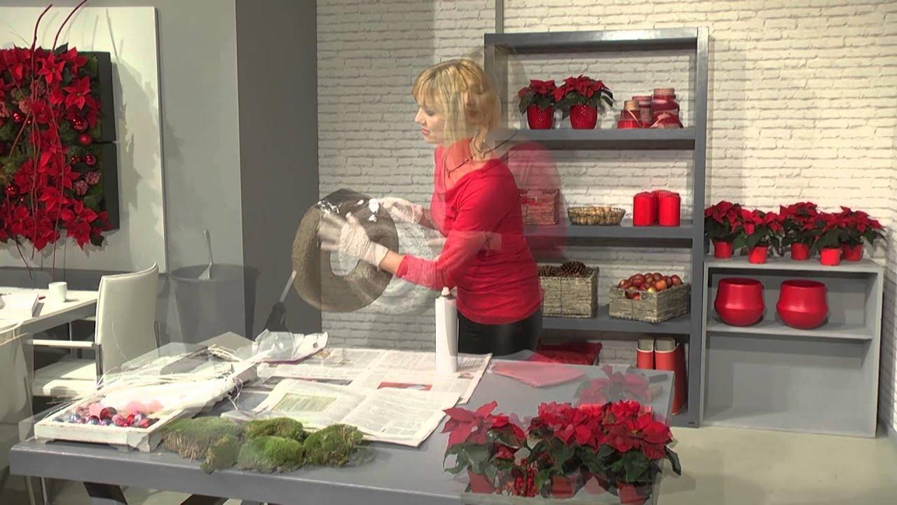 Advent Wreath Decorations Decoration Ideas For Florists Advent Wreath With Mini Poinsettias