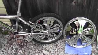 Unique BMX with spinners FOR SALE !!!