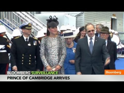 England Awaits First Glimpse of Prince of Cambridge