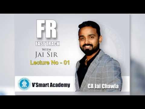 Demo01| CA Final Financial Reporting FR Fast Track Full Course | Videos New Syllabus | CA Jai Chawla