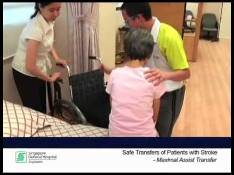 Reel Health #6 - Safe transfers of patients with stroke (Maximum Assistance Transfer)
