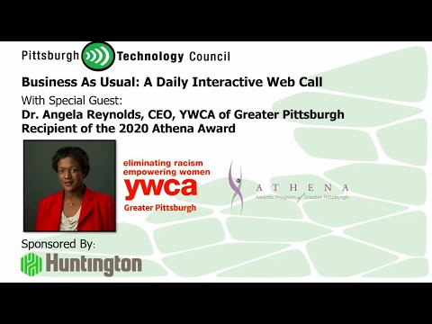 ATHENA 2020 Award Recipient Dr. Angela Reynolds Goes Live on Business as Usual