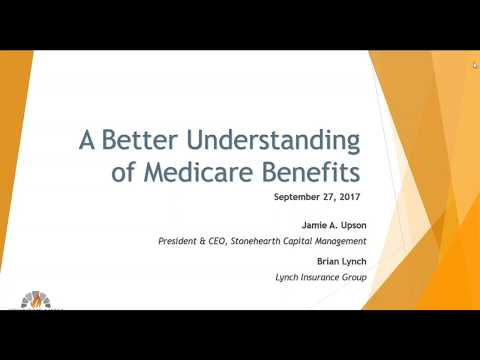 Medicare Benefits Webinar with Jamie Upson and Guest Speaker, Brian Lynch