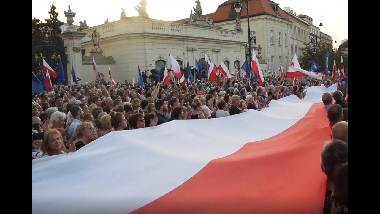 Chodźcie z nami! Polacy solidarnie przeciw PiS