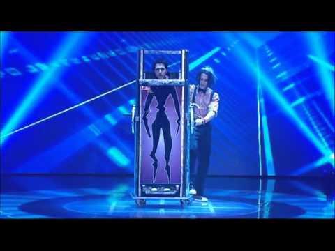 Australia's Got Talent 2011 - Cosentino (Invisible Man)