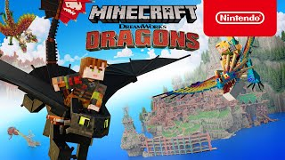 Minecraft - DreamWorks H๐w to Train Your Dragon DLC: Official Trailer - Nintendo Switch
