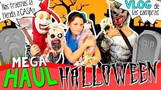 Mega HAUL de HALLOWEEN 2016 * Nuestros disfraces para HALLOWEEN + ¡¡VLOG de compras!! thumbnail
