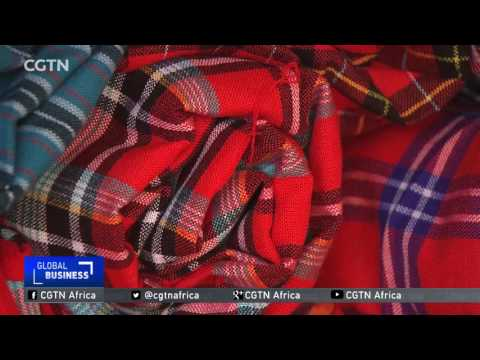 Made in Kenya: Traditional Maasai blanket gets a face-lift