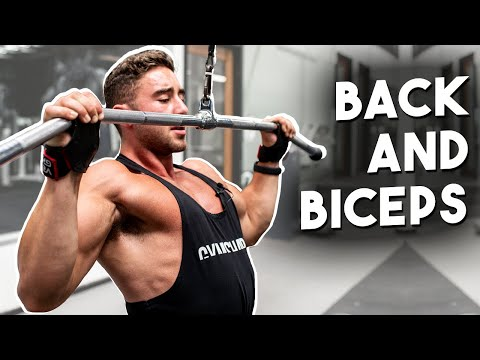 PULL WORKOUT | Grow Your Back and Biceps | Zac Perna