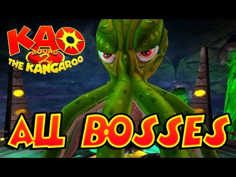KAO The Kangaroo Round 2 All Bosses | Final Boss (Gamecube, PS2, XBOX, PSP)