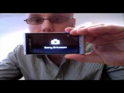 Sony Ericsson Satio (Idou) 12 MP Cameraphone Hands-On