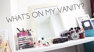 What's On My Vanity? | Everyday Makeup Organization