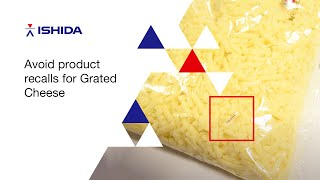 Ishida X Ray inspection for dairy - Grated Cheese