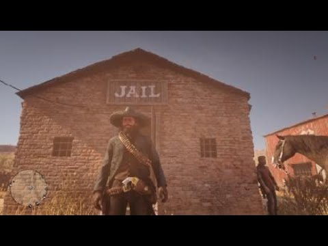 Red Dead Redemption 2 Bounty Hunting Esteban Cortez Del Lobo Gang Youtube