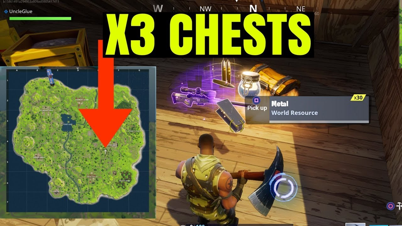BEST SECRET LOOT SPOT FORTNITE BATTLE ROYALE YouTube