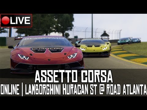 Assetto Corsa || Online || @RaceDepartment Lamborghini Huracan ST @ Road Atlanta || LIVE