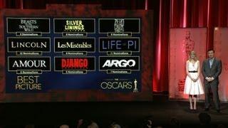 Oscar Nominations 2013 Announcement: