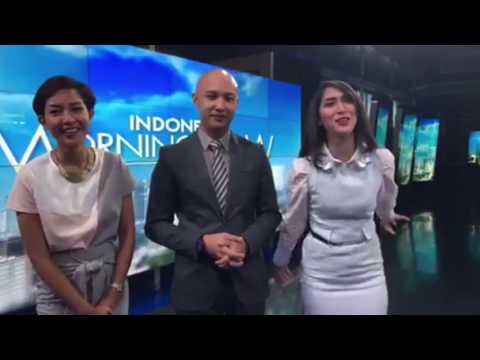 Ms. SHAHNAZ S., Mr. VANNICO S., Ms. SHEILA PURNAMA (Indonesia Morning Show)