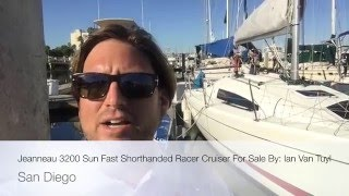 Jeanneau 3200 Sun Fast Shorthanded Racer Cruiser For Sale By: Ian Van Tuyl