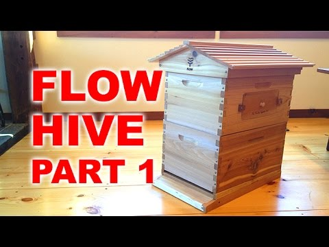 flow hive un boxing and assembly novice beekeeping part 1 youtube. Black Bedroom Furniture Sets. Home Design Ideas