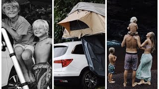 A Day in our HAWAII LIFE | Rooftop Tent Camping!