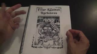 Four Against Darkness (solo pnp rpg) Review