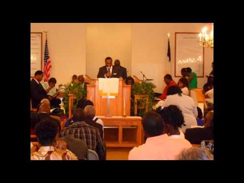 "Pastor Persell Ross of Saint Luke Baptist Church, Sharon, SC preaching, ""Stop Tripping"""