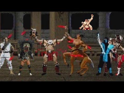 Mortal Kombat Trilogy - Нелепые добивания, Глитчи, баги, Смешные моменты