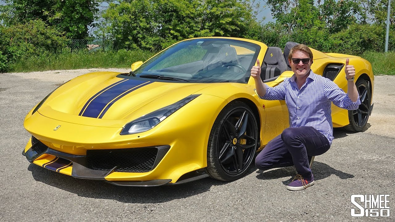 My First Drive in the Ferrari 488 Pista Spider! | REVIEW