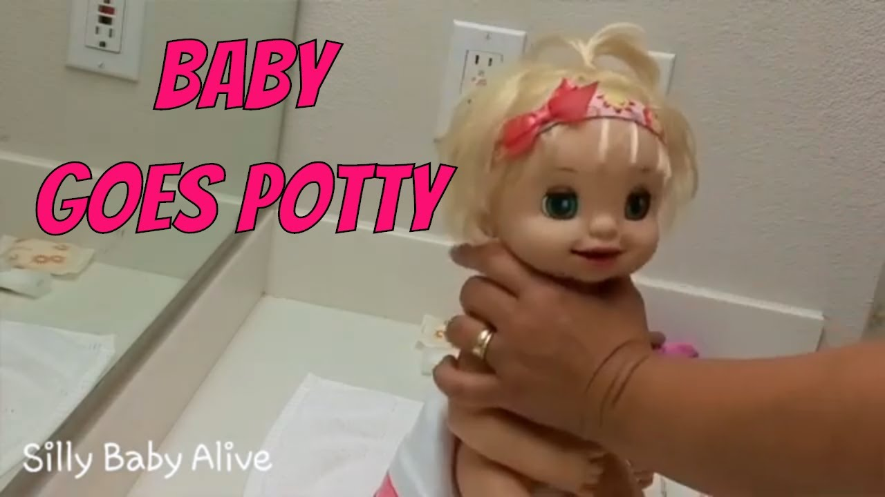 Learns to Potty Baby Alive Night Routine