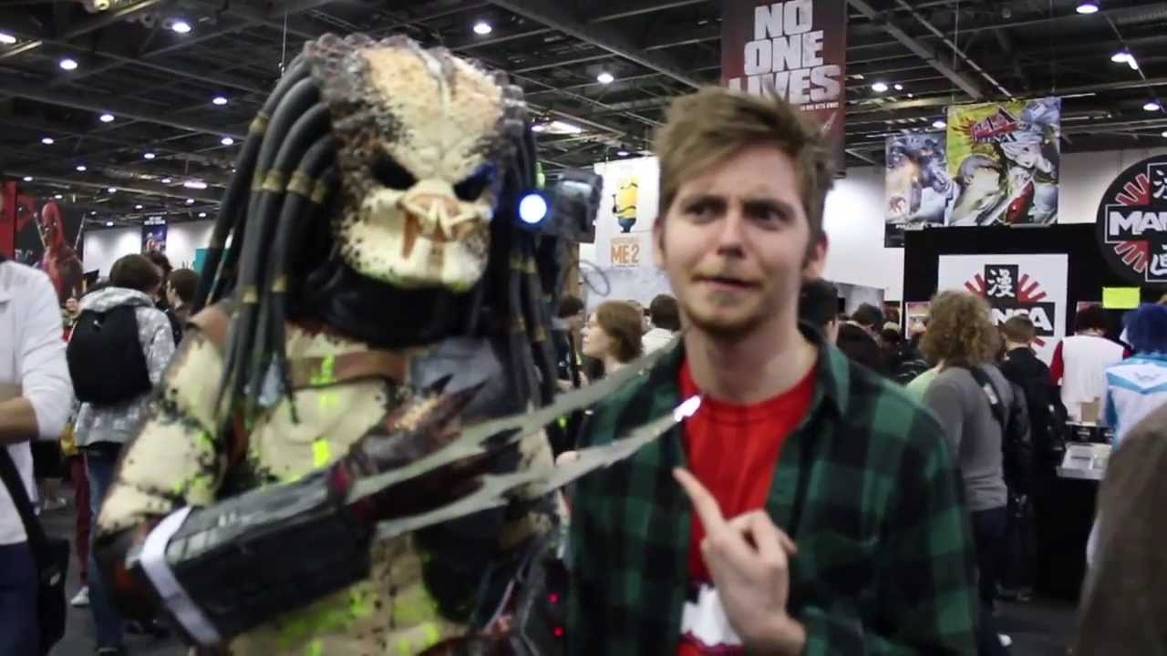 MCM Comic Con London - May 2013 - YouTube H20 Delirious Face