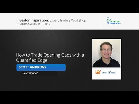 How to Trade Opening Gaps with a Quantified Edge | Scott Andrews