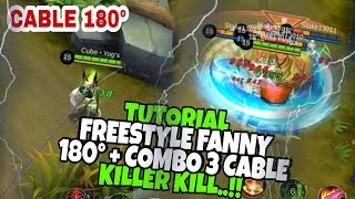 FREESTYLE FANNY CABLE 180° + COMBO KILLER.!! • Tutorial Fanny