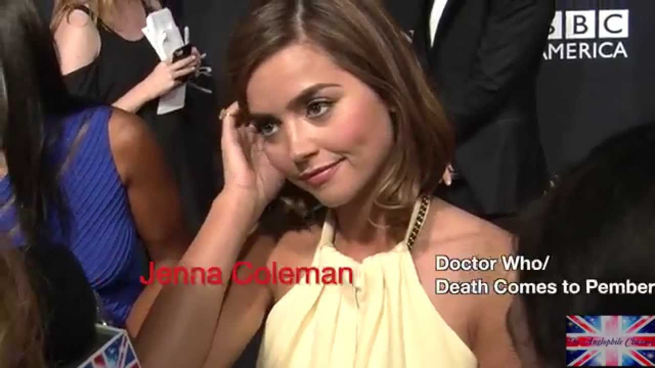 Download JENNA COLEMAN: Doctor Who and Death Comes the Pemberley