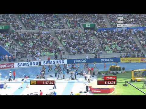 5000 Metres men heats heat 2 IAAF World Championships Daegu 2011