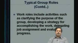 Lecture - 33 Group Dynamics - II