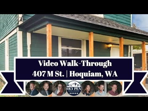 407 M St | Hoquiam, WA | Video Walk-Through