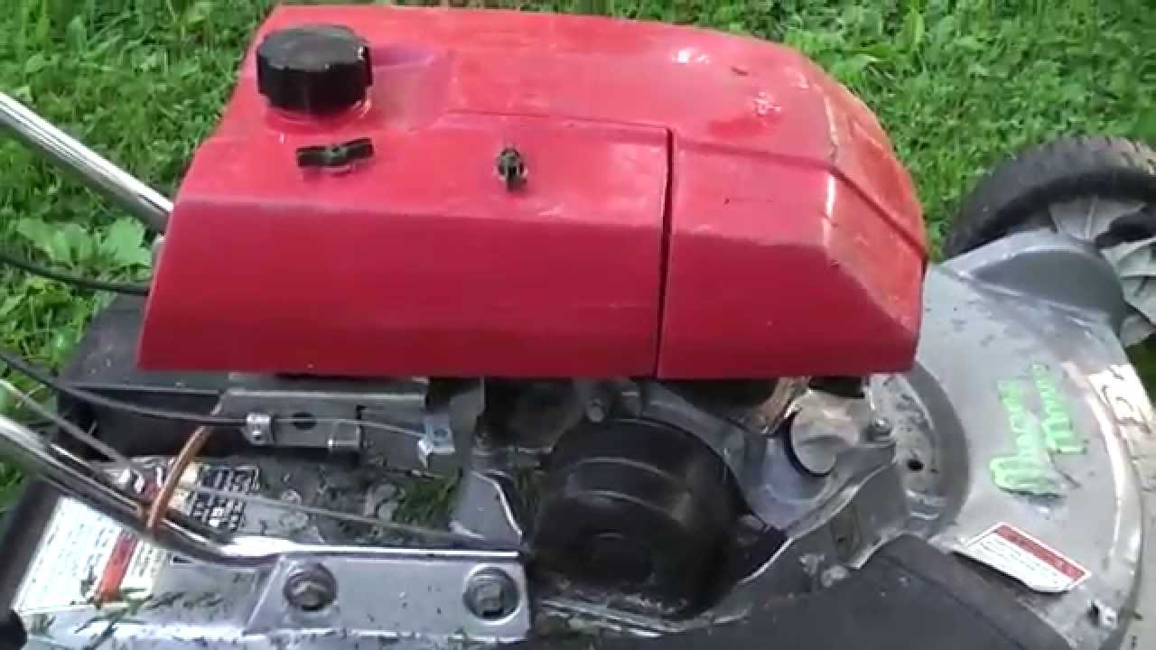 honda mower of obscurity hrm21 sva youtube rh youtube com Replace Valves Honda GCV160 Honda GCV160 Valve Timing