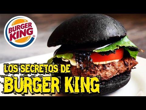Los Secretos De Burger King | Hamburguesa Negra